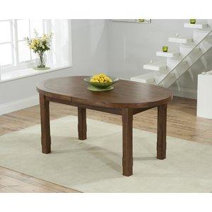 Mark Harris Furniture Mark Harris Cheyenne Dark Oak Oval Extending Dining Table, Oak with Dark Lacquer