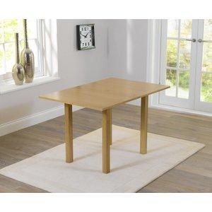 Mark Harris Furniture Mark Harris Hove Solid Hardwood Rectangular Extending Dining Table - 60cm-120cm