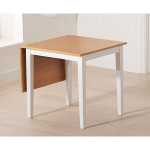 Mark Harris Furniture Mark Harris Mara Oak And White Rectangular Extending Dining Table