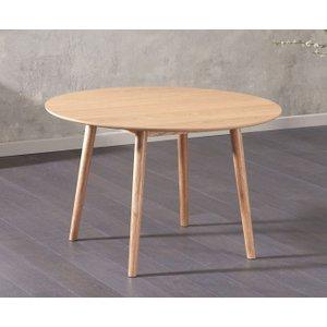 Mark Harris Furniture Mark Harris Newark Oak Round Dining Table - 120cm