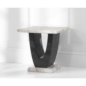 Mark Harris Furniture Mark Harris Rivilino Cream Marble Lamp Table
