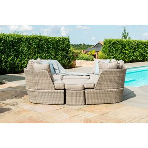 Maze Rattan Cotswold Daybed, Taupe