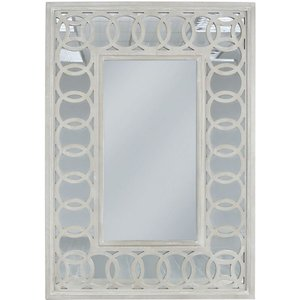 Deco Home Melville Rectangular Wall Mirror - 79cm X 113cm, Mirrored