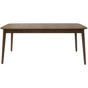 Moda Mesilla Walnut Stained Butterfly Extending Dining Table, Walnut Stained