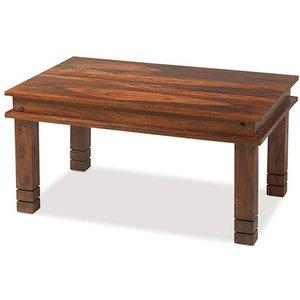 Hermitage Furniture Mica Sheesham Chunky Medium Coffee Table