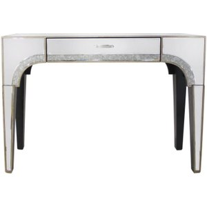 Deco Home Morocco Mirrored 1 Drawer Console Table