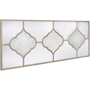 Deco Home Morocco Wall Mirror - 150cm X 60cm, Champagne