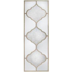 Deco Home Morocco Wall Mirror - 50cm X 150cm, Champagne