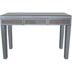 Deco Home Naro Smoked Copper Mirrored Console Table