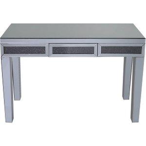 Deco Home Naro Smoked Mirrored Console Table