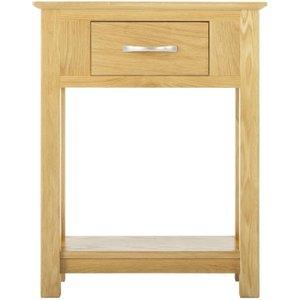 Classic Furniture Nordic Oak Small Console Table