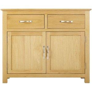 Classic Furniture Nordic Oak Small Sideboard, Satin Lacquered