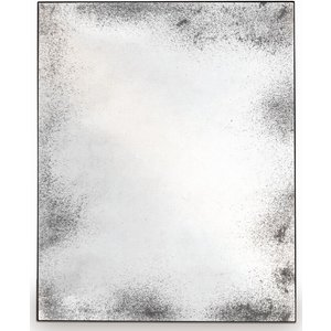 Ethnicraft Notre Monde Clear Heavy Aged Metal Frame Wide Rectangular Mirror - 122cm