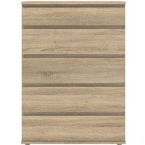 Furniture To Go Nova Oak 5 Drawer Chest, Oak
