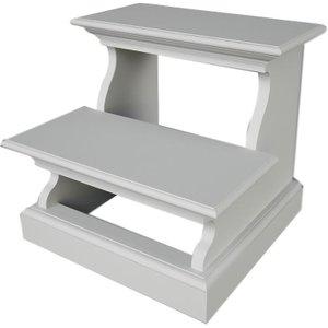 Nova Solo Halifax White Bed Step, White Semi-Gloss Paint