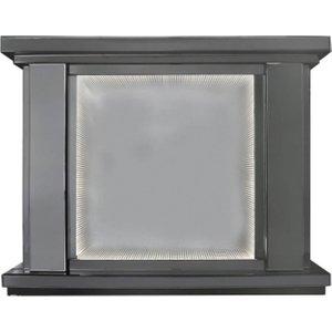 Deco Home Orbit Smoked Mirrored Fire Surround, Smoked Mirrored