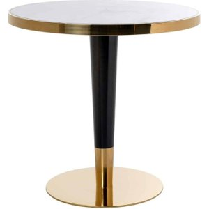 Richmond Interiors Osteria Replica Marble Round Dining Table - 80cm