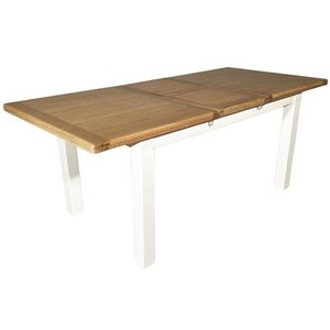 Furniture Now Oxford Painted Extending Dining Table, Oak and Painted