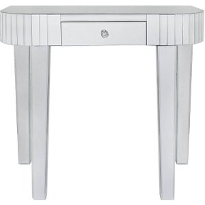 Deco Home Paolo Mirrored Tile Console Table