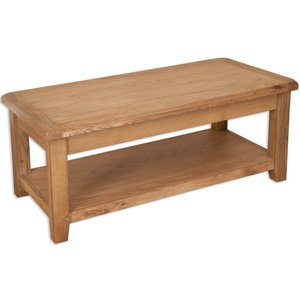 Indian Furniture Company Perth Country Oak Coffee Table, Oak
