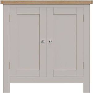 Scuttle Interiors Portland Small Sideboard - Oak And Dove Grey Painted