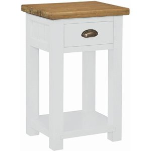 House Brands Regatta White Painted Console Table