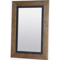 House Brands Renton Industrial Oak Rectangular Mirror - 100cm X 150cm