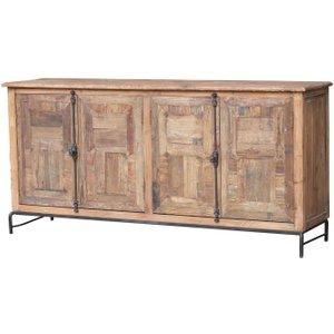 House Brands Renton Industrial Old Pine Sideboard