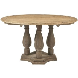 House Brands Renton Reclaimed Elm Round Dining Table