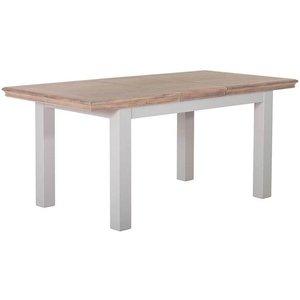Besp Oak Rosa Painted Rectangular Extending Dining Table - 140cm-180cm, Painted