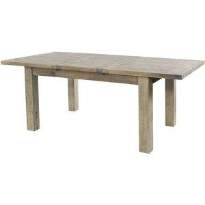 Rowico Saltash Reclaimed Pine 140cm-190cm Extending Dining Table, Driftwood