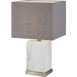 R V Astley Rv Astley Abella Antique Brass Table Lamp
