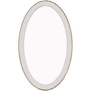 R V Astley Rv Astley Coira Cognac Lit Edge Oval Mirror