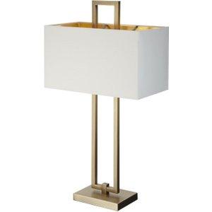 R V Astley Rv Astley Danby Antique Brass Table Lamp