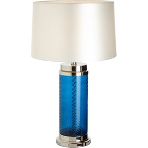 R V Astley Rv Astley Haro Blue Glass Table Lamp Base, Blue
