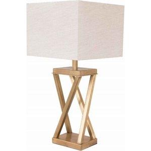 R V Astley Rv Astley Xonomny Antique Brass Table Lamp