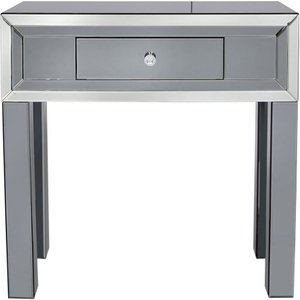 Deco Home Salerno Smoked Mirrored Console Table