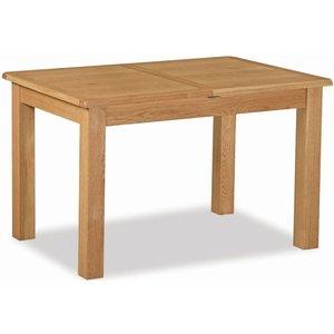 Global Home Salisbury Lite Oak 120cm-165cm Extending Dining Table, Oak