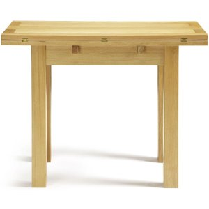 Serene Furnishings Serene Brent Oak Flip Top Dining Table, Oak