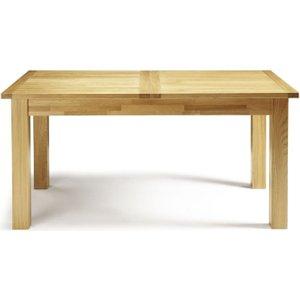 Serene Furnishings Serene Bromley Oak Extending Dining Table, Oak