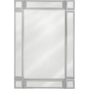 Deco Home Siena Rectangular Wall Mirror - 60cm X 90cm