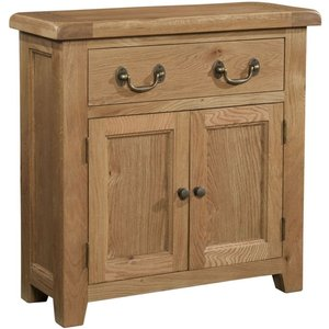 Devonshire Pine And Oak Somerset Oak Small Sideboard, Wax