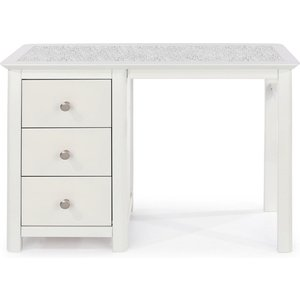 Cfs Value Stirling White Painted Dressing Table - Stone Top, White Painted and Stone Top