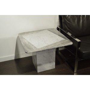 Stone International Shutter Marble Lamp Table