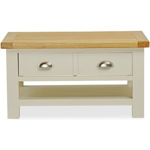 Global Home Suffolk Buttermilk Painted Small Coffee Table