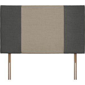 Swanglen Seville Grand Granite And Fudge Fabric Headboard Cfsswanglen 233