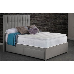 Sweet Dreams Symbol Pillow Top Sleepzone Springs Sprung Edge Divan Bed Set