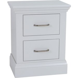 Tch Furniture Tch Coelo Painted 2 Drawer Bedside Cabinet, Painted