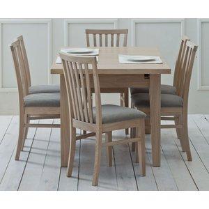Tch Furniture Tch Windsor Oak Small Extending Dining Table, Oak
