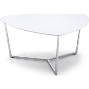 Fairmont Tesla White High Gloss Coffee Table, White High Gloss